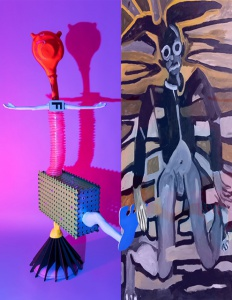 Tentoonstelling: Ramon & Bastiaan de Nennie, Prins vogelvrij