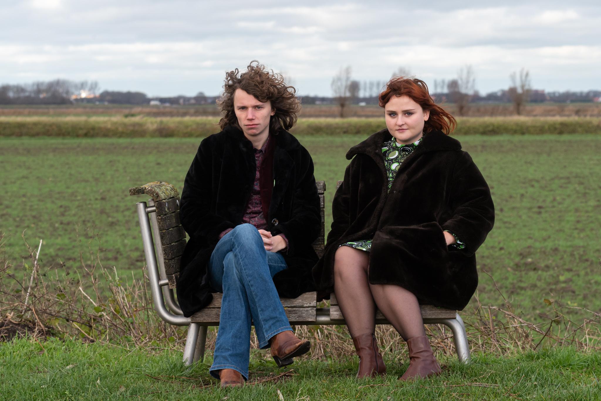 Sophie Bosten en Freek Struijs